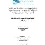 2013 Stormwater Monitoring report