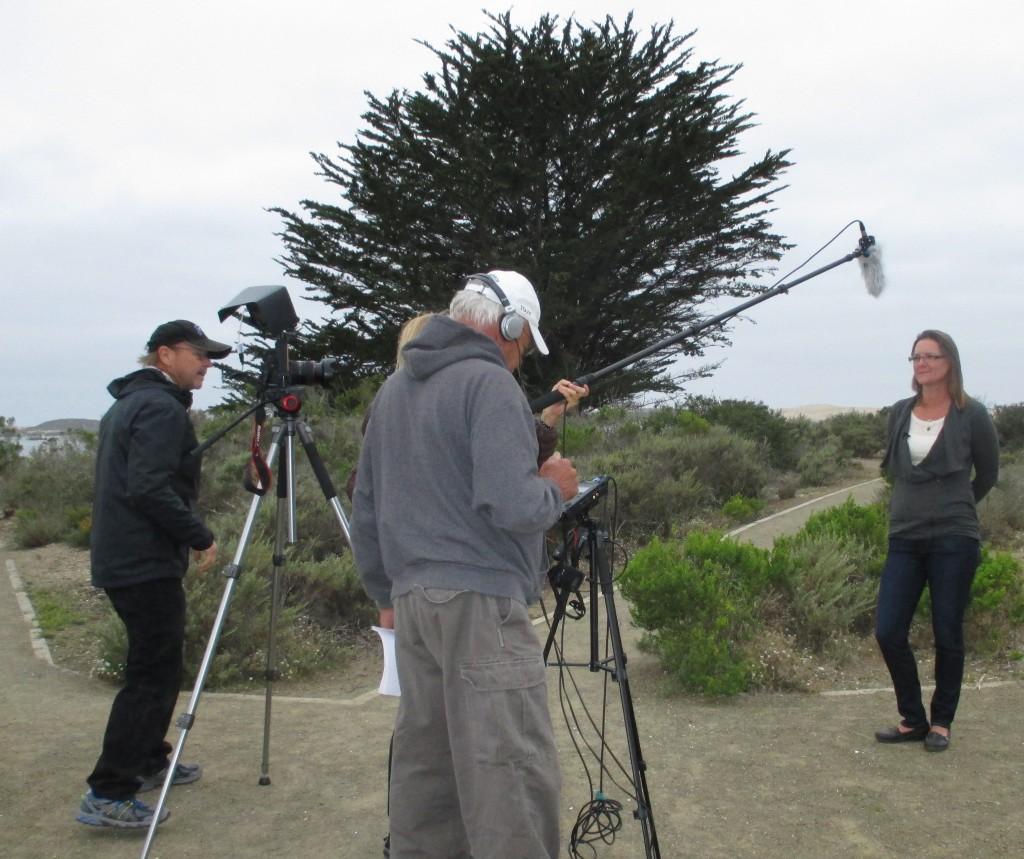 Damaris Hanson gives interview