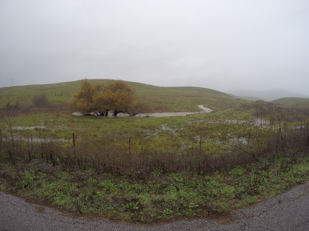 Chumash Creek flows into Pennington Creek.