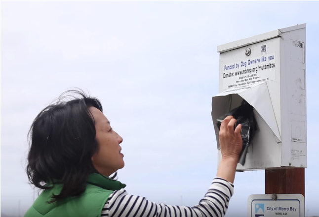 Mutts for the Bay dispensers make it easy to pick up after your dog to help keep our waterways clean.