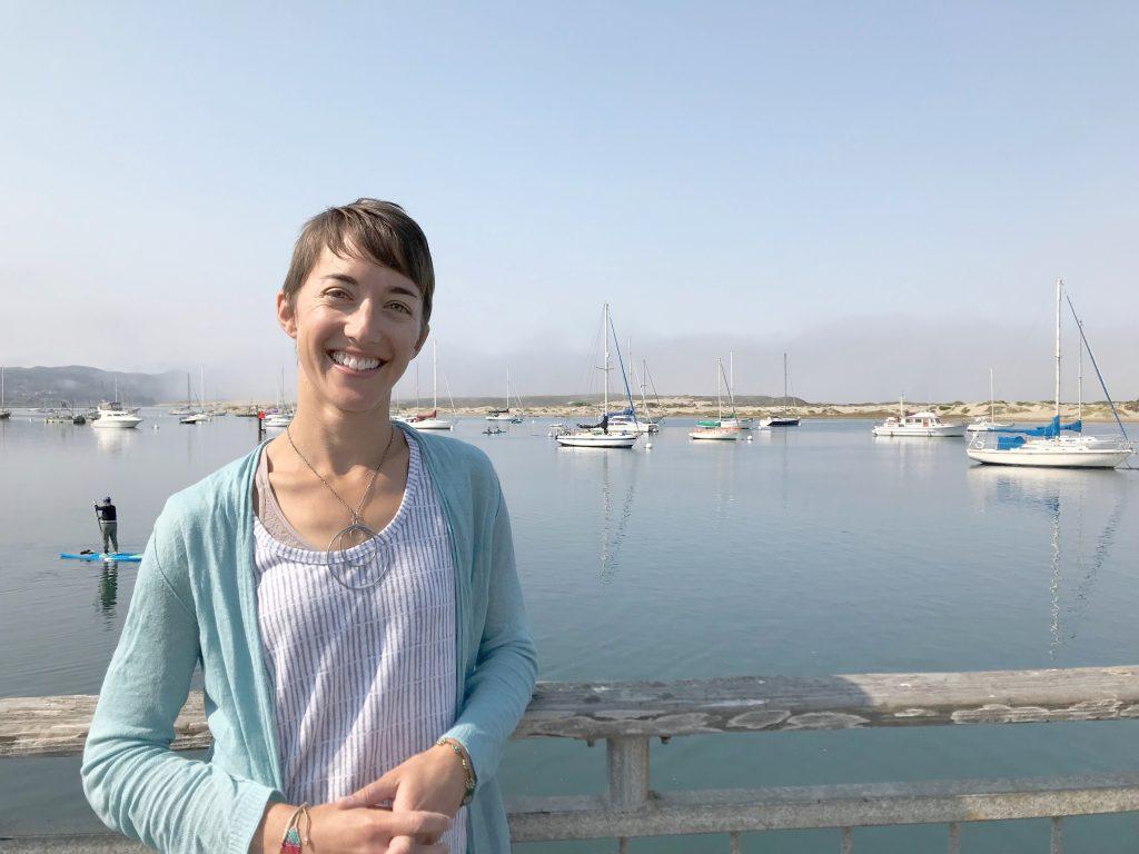 Lexie Bell, Executive Director of the Morro Bay National Estuary Program.