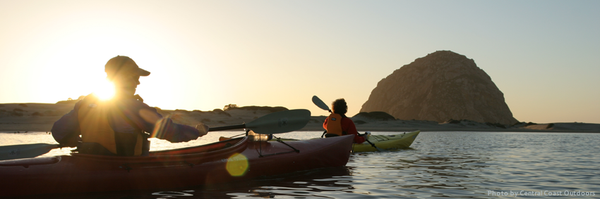 Morro Bay kayakers