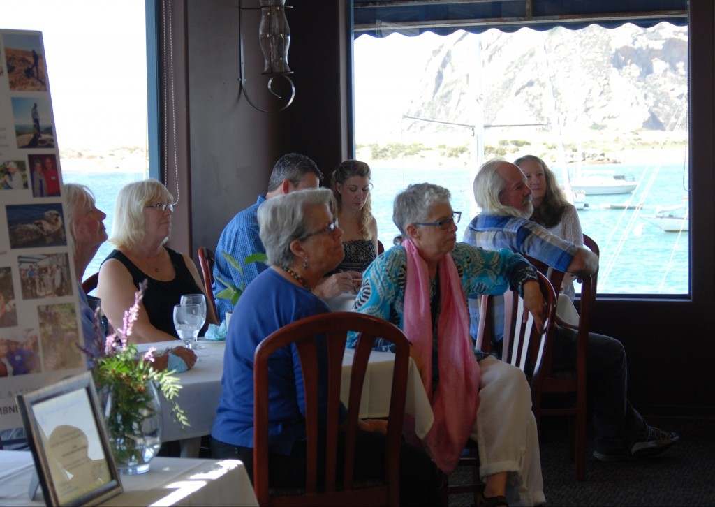 Attendees enjoyed the view from Windows on the Water's dining room.