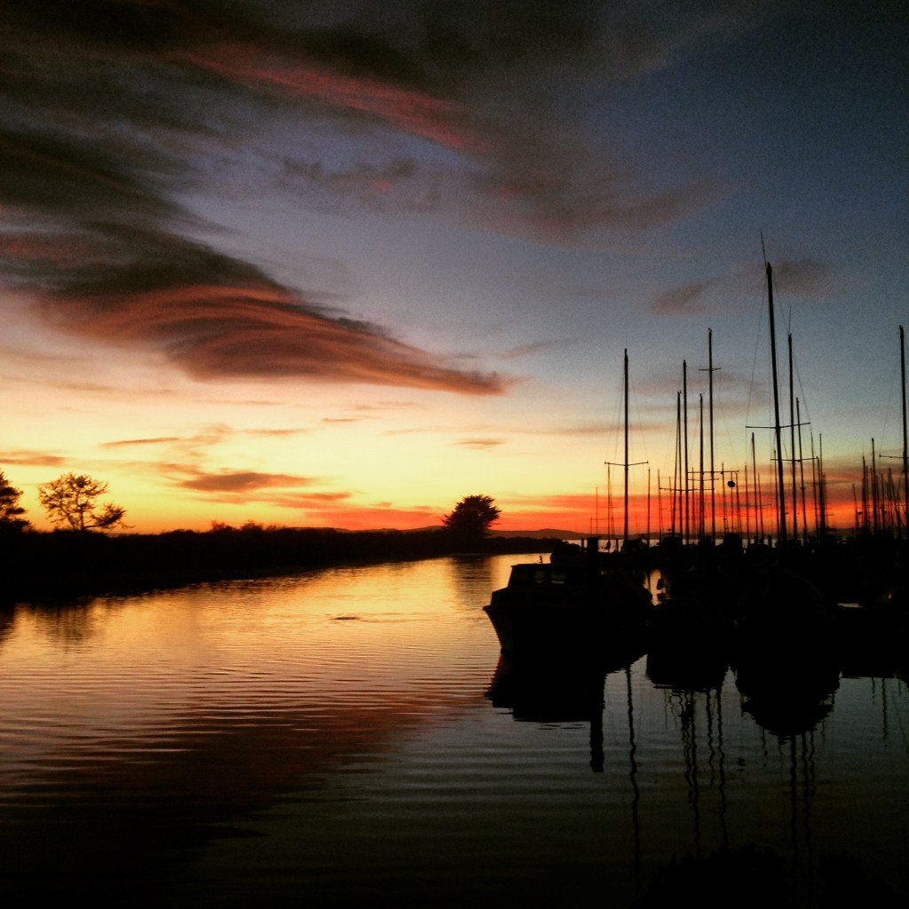 Sunset at the Marina by Roné Prinz