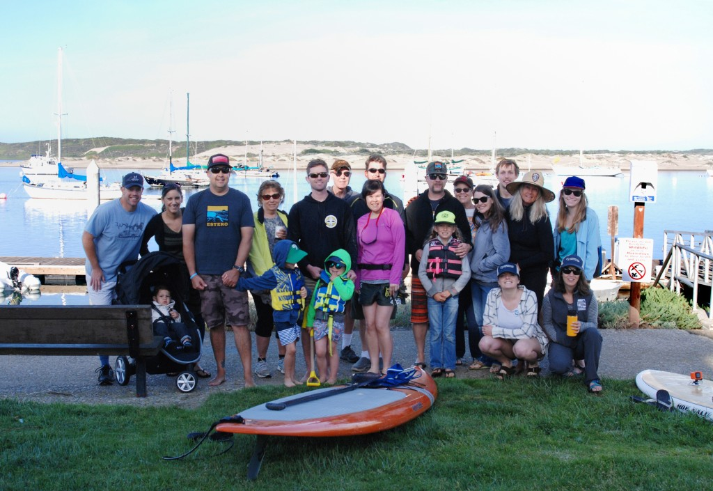 Our Earth Day Pickup and Paddle event drew a wonderful crowd of volunteers who cleaned up the bay and shoreline by paddleboard.