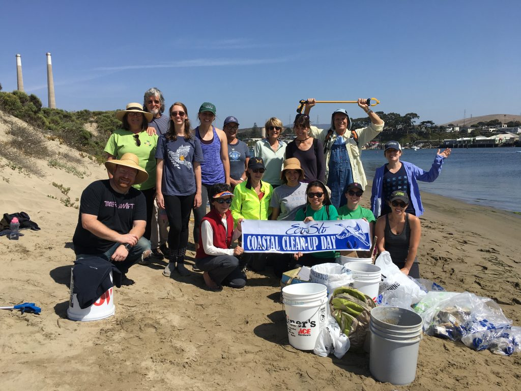Our volunteer crew for Coastal Cleanup Day 2017 included community members, staff from partner organizations, and local college students.
