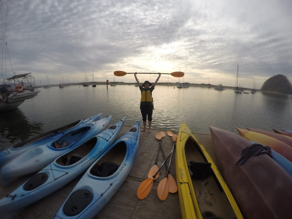A sunset paddle left our Education and Outreach Intern, Catie, feeling inspired.