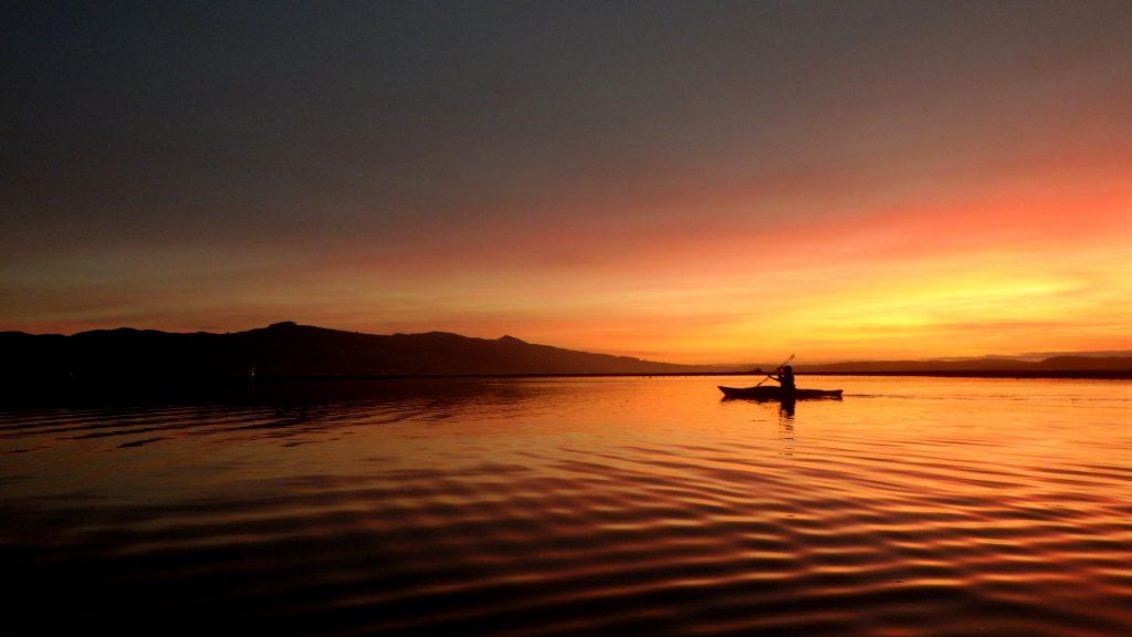Sunset over Morro Bay