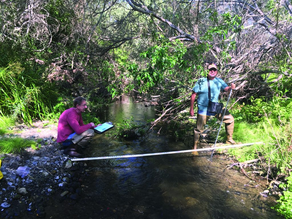 Nitrates, water in creeks and bay, Morro Bay National Estuary Program.