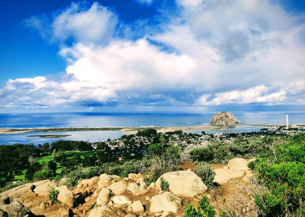 View of Morro Rock from Black Hill